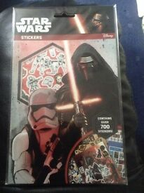 700 stickers Star Wars The Force Awakens stickers