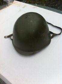 American G.I Joe military combat helmet, NOPE, its a Czechoslovakian post war military helmet