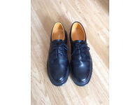 Men's Black TUFFKiNG Steel toe cap shoes size 10