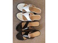 Nine West mule sandals size 5