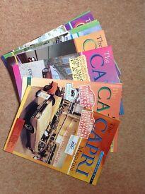 Capri Club Magazines. 72 in total.