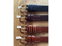 Men's Hand Made Full Grain Bridle Leather Belt