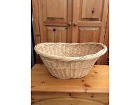 Large Rattan Wicker Basket