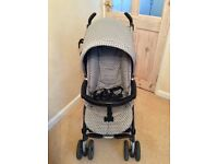 Mamas & Papas pramette with car seat and accessories