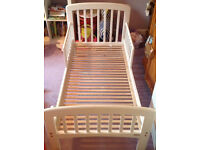 John Lewis Toddler Bed - £35