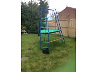 Climbing frame-good but used condition FREE!
