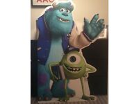 Free standing monsters university cut out