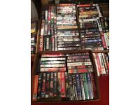 Videos galore 150 approx including dramas, thrillers, horrors etc