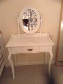 White dressing table - sold