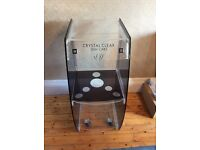 Crystal Clear Machine Trolley