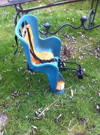 Young Child's Bicycle Seat For The Energetic Parent.