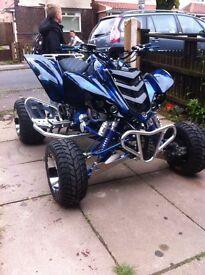 Yamaha raptor road legal