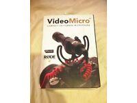 RODE VideoMicro On-Camera Microphone - BRAND NEW