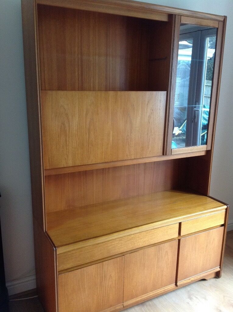 cabinet and lighting. wall unit with drinks cabinet and lighting i