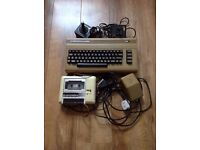 Vintage Retro Commodore 64 Console with 15 Games