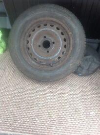 Cor tyre uniroyal rainmaster 185 / 65 /13 new no cuts etc