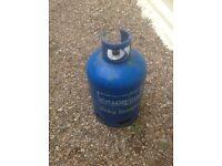 Gas bottle 15kg lots of gas in it