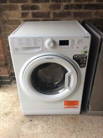 Hotpoint WMFUG942 9kg 1400 Spin WhiteLCD A++Rated Washing Machine 1 YEAR GUARANTEE FREE FITTING
