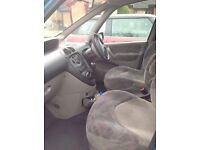 CITREON XSARA PICASSO SX 8V - Nice looking car all round, nice driver. Completely new exhaust.