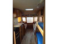 Touring 4 berth caravan