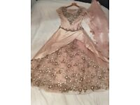 Beautiful ball gown in pale pink and in immaculate condition