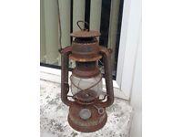 Feuerhand antique oil lamp.