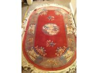 1979 Chinese rug 5ft x 3ft