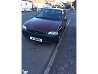 Ford Escort Encore, 1995, good condition , MOT February 2017, very reliable