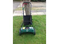 Victor battery lawnmower