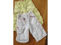 Two pairs of girls shorts age 5-6