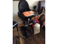Loft bloom fresco high chair.