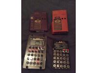 Teenage Engineering Pocket Operator PO-16 Factory + PO-20 Arcade with Acrylic Case.