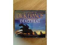 Dick Frances, Dead Heat. Audio book cd