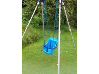 Swing suitable for young child