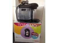 Tassimo Vivy TAS12xx hot drinks machine in fantastic condition, barely used.