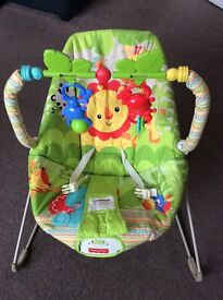 Fisher price jungle baby bouncer for sale