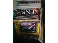 ASTRONOMY - SKY AT NIGHT MAGAZINES AND CDS FOR SALE