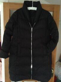 Jaeger Quilted coat - black size medium (14)
