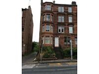 Clarence Drive, main door, 2 bedroom flat for rent. Hyndland, West End, Glasgow