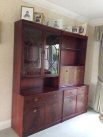 Impressive Mahogany Display and Storeage Cabinets