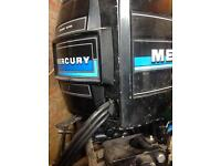 Spares or repair Mercury 70hp outboard power tilt and trim