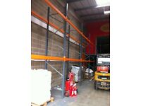 DEXION SPEEDLOCK INDUSTRIAL COMMERCIAL WAREHOUSE LONGSPAN PALLET RACKING UNIT