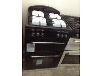 Leisure classic double oven. Black 60cm. £349 RRP £549. New/graded 12 month Gtee
