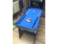 Games Table 3 in 1 pool\football/Table tennis