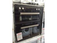 Beko intergrated 72cm built under double oven. £299 new/graded 12 month Gtee