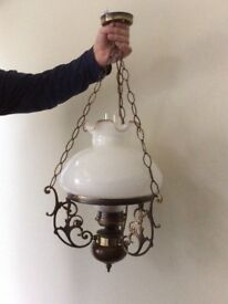 Cottage style Electric light fitting
