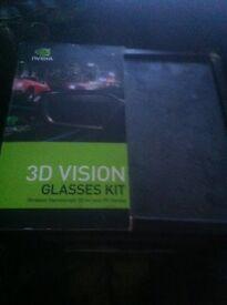 3d vision glasses kit