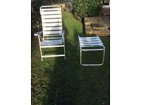 Camping Chairs with foot rests