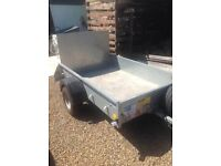 Ifor Williams P6 Trailer with flotation Tyres £695