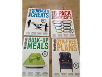 Men's health workout book set